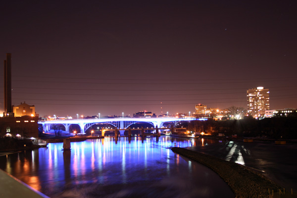 I-35W Bridge over the Mississippi River
