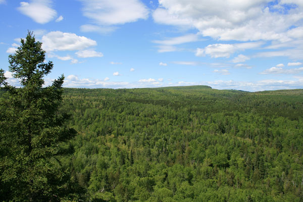 Lookout Mountain, Cascade River State Park, Minnesota