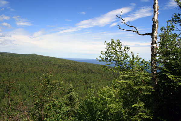 Lake Superior from Lookout Mountain, Cascade River State Park