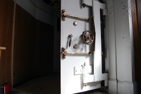 Old Safe, Schmidt Brewery, St Paul, MN