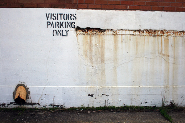 Visitors Parking, Schmidt Brewery, St Paul, MN