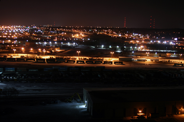 Minneapolis Rail Yard