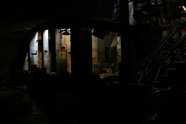 Abandoned basement. St. Paul, MN