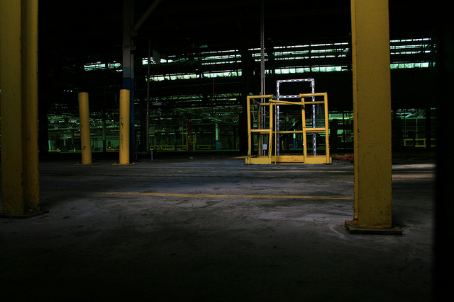 A peek inside the Ford Twin Cities Assembly Plant, St. Paul, MN.