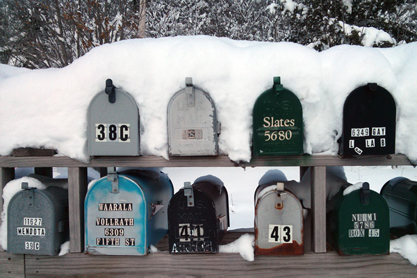 Mail Boxes, Michigan