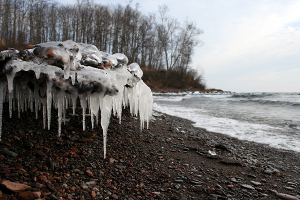 Lake Superior Icicles