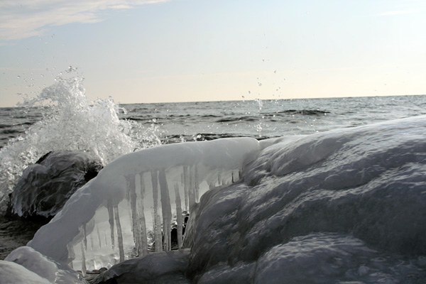 Winter Wave, Lake Superior