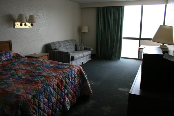 Untouched Hotel Room