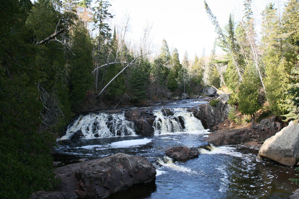 Water Falls at Tettegouche State Park