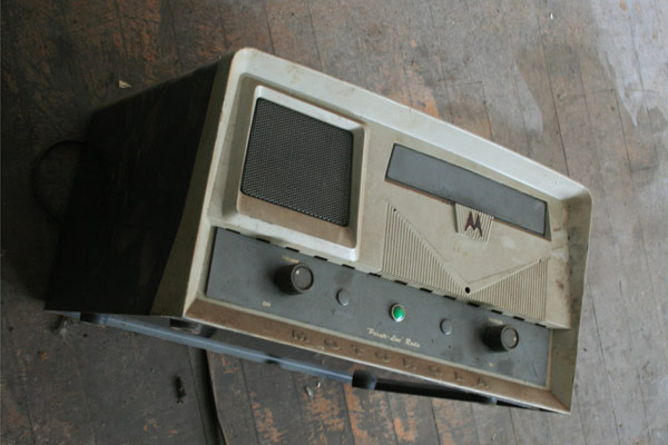 Old Motorola Radio