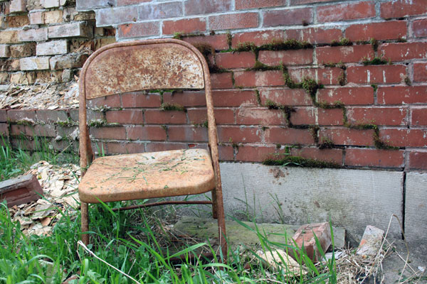 Rusty Chair