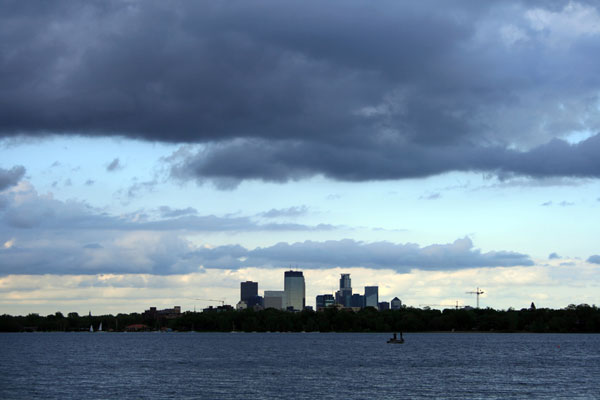 Minneapolis from Calhoun