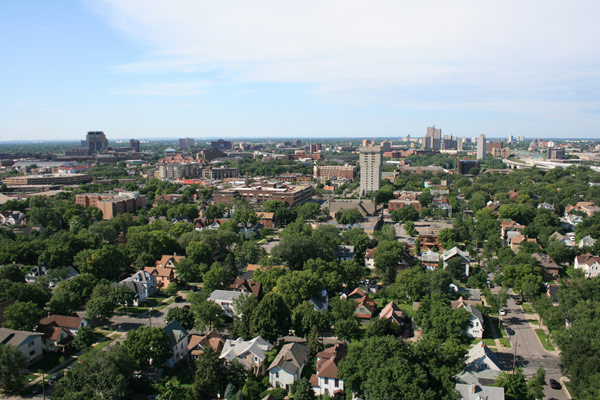 Looking South Toward Dinkytown